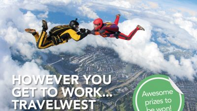Thumbnail image for 'Dive in' and pre-register your business for the Travel to Work Survey