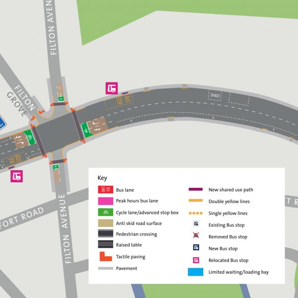Image: Muller Road Consultation: Area 1: Gloucester Road to Downend Road