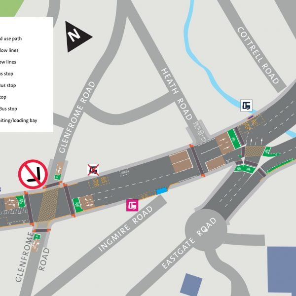 Image: Muller Road Consultation: Area 4: Dormer Road to M32 roundabout