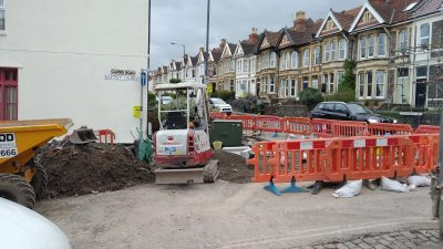 Thumbnail image for Construction of the Cairns Road scheme in Bristol started on 4 March 2019