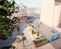 Thumbnail image for Your views needed on making Bath's Kingsmead Square car-free