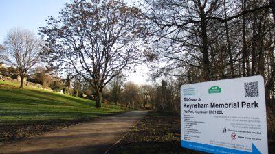 Thumbnail image for Keynsham Memorial Park pedestrian bridge closed