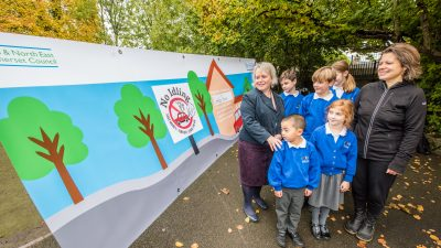 Thumbnail image for New campaign launched in Bath & North East Somerset to stop motorists idling outside school gates
