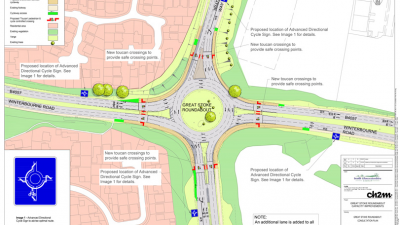 Thumbnail image for Funding agreed for Great Stoke roundabout improvements