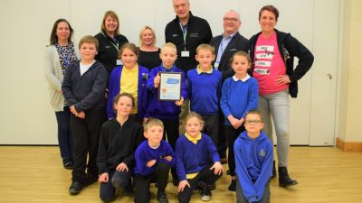Thumbnail image for South Gloucestershire School wins award for more sustainable school run