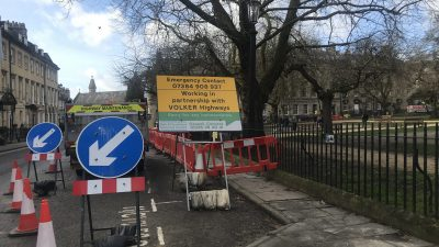 Thumbnail image for Bath city centre temporary road closure for Clean Air Zone