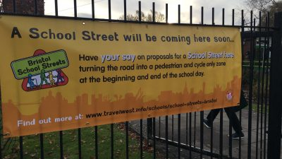 Thumbnail image for Bristol City Council introduce Bristol's first 'School Streets'