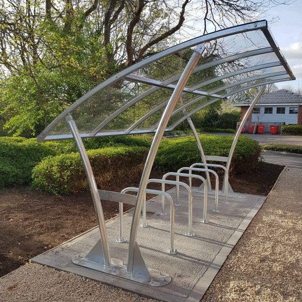 Image: Craddys cycle shelter