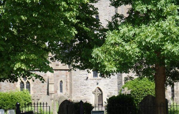 Image: Church yard