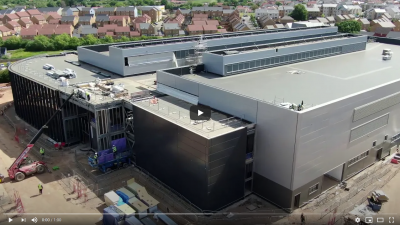 Thumbnail image for Drone footage shows University of Bath's new world-class IAAPS facility