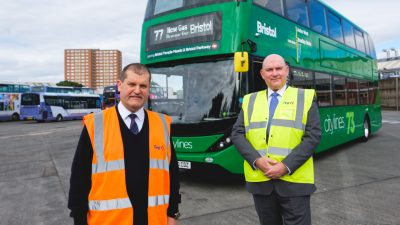 Thumbnail image for Latest biomethane buses help First Bus with zero emissions target