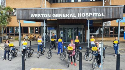 Thumbnail image for North Somerset Council announces free bike scheme for NHS workers