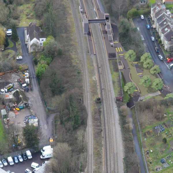 Image: Ashley Down Station Engagement - Aerial view 1_Rev 03