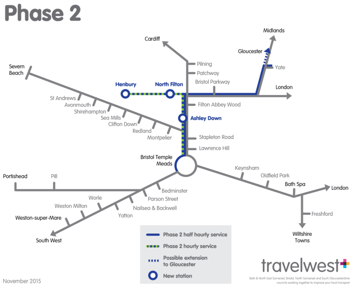 MetroWest Phase 2 Map