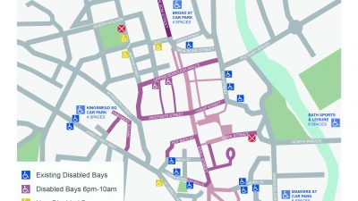 Thumbnail image for Help to locate disabled parking bays in Bath