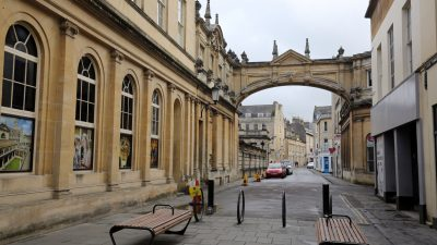 Thumbnail image for New temporary gates to be installed in Bath to help social distancing