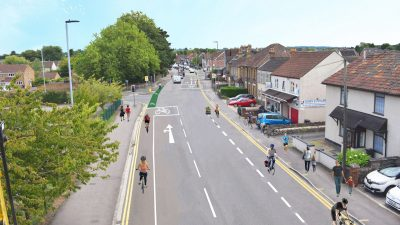 Thumbnail image for New cycle lanes for Yate commuter route to improve safety and encourage more people to ride to work
