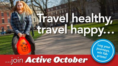 Thumbnail image for Join Active October to win prizes in this year's Travelwest Challenge