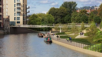 Thumbnail image for Bath Quays Bridge superstructure to be installed