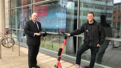 Thumbnail image for E-scooter operator announced for West of England trial scheme