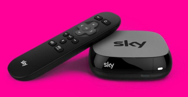 SKY TV Box, dispositivo de Sky TV