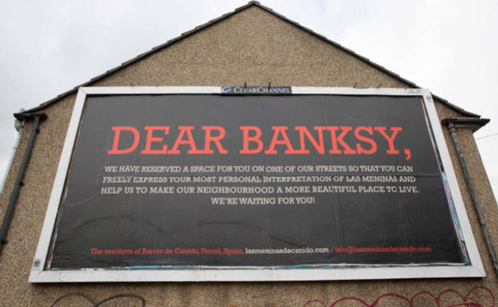 Canido quiere unas Meninas de Banksy