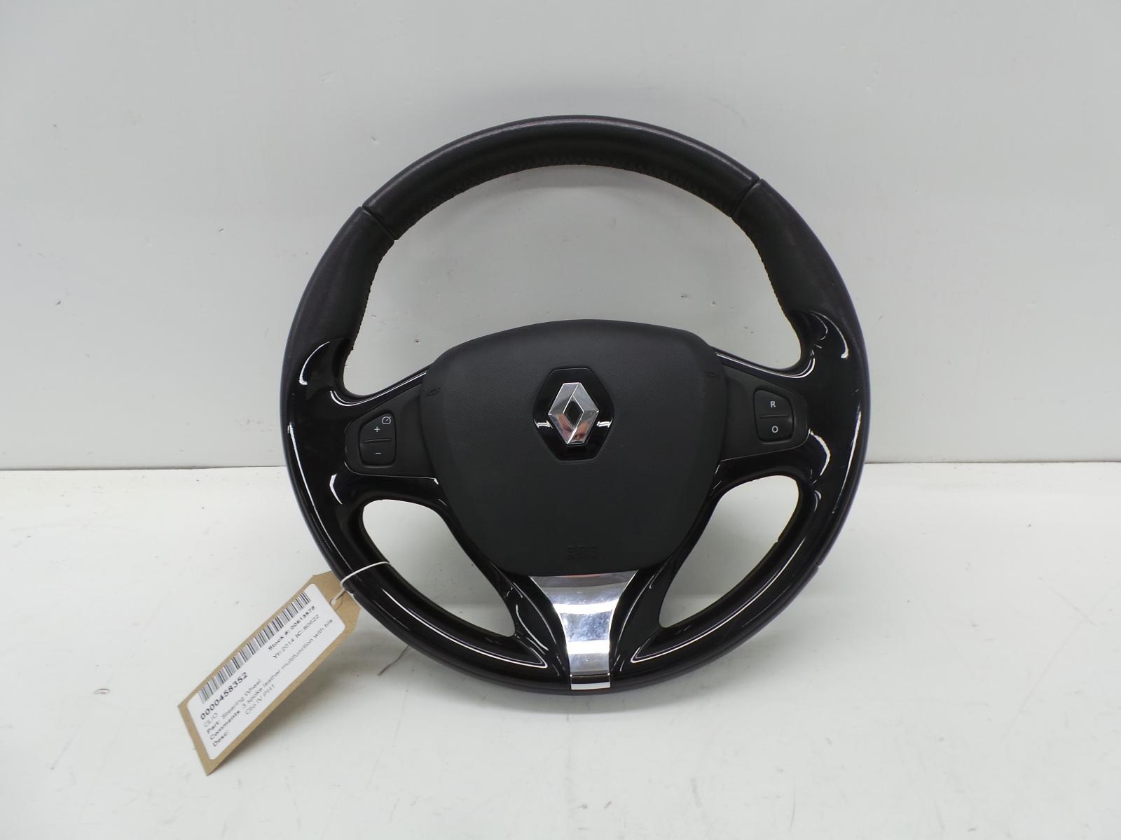 Renault Laguna MK3 2007-2012 Steering Wheel Squib Clock Spring Stalks Cruise