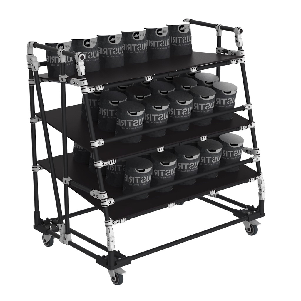 Order preparation picking cart