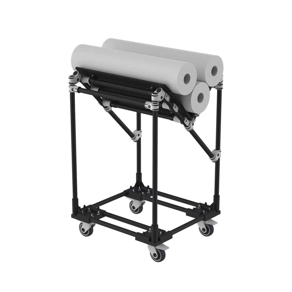 V shape cart