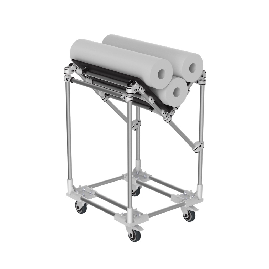 V shape trolley