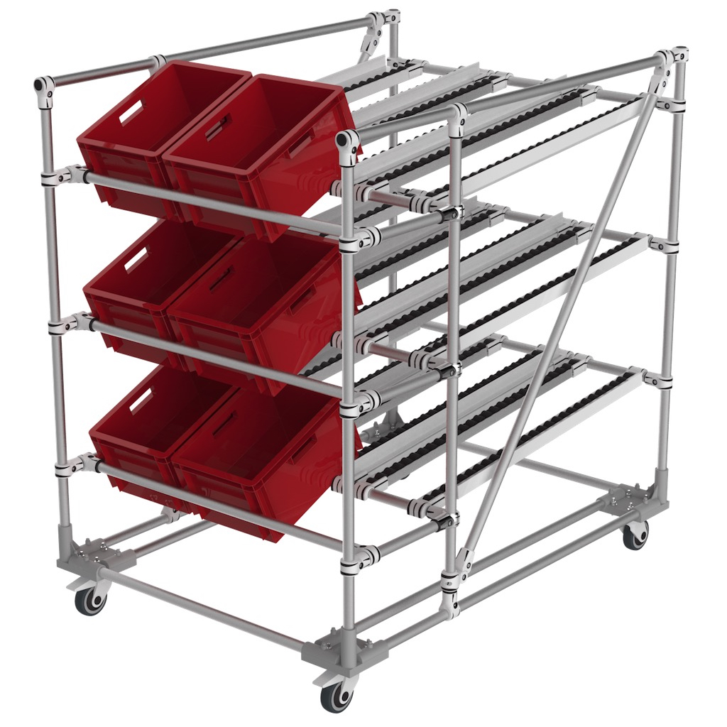 Picking  flow rack