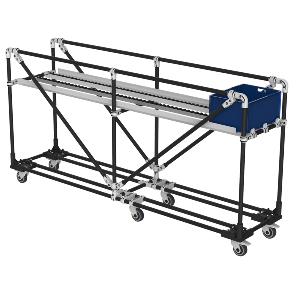 Box picking cart