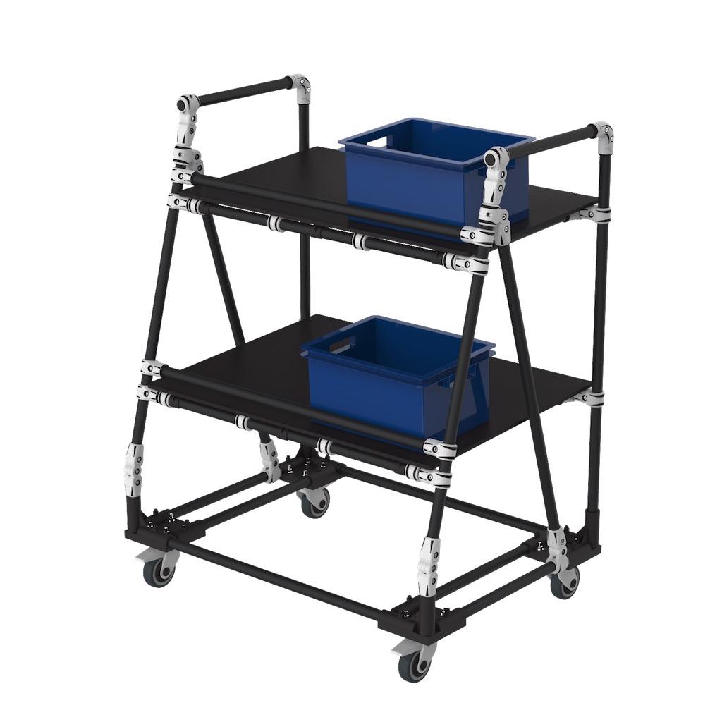Servante de transport ergonomique