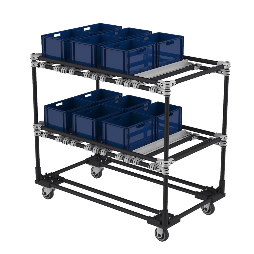 Box transport Cart