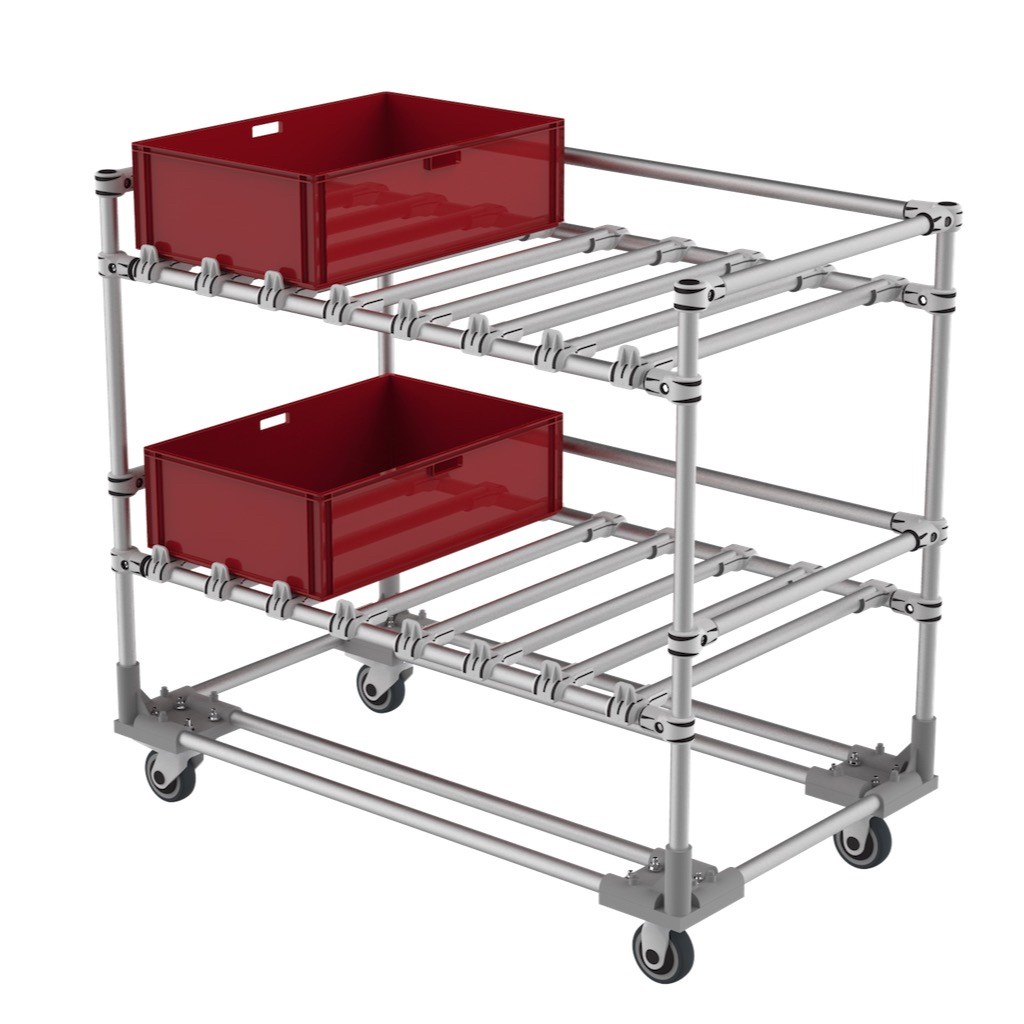 Production line trolley