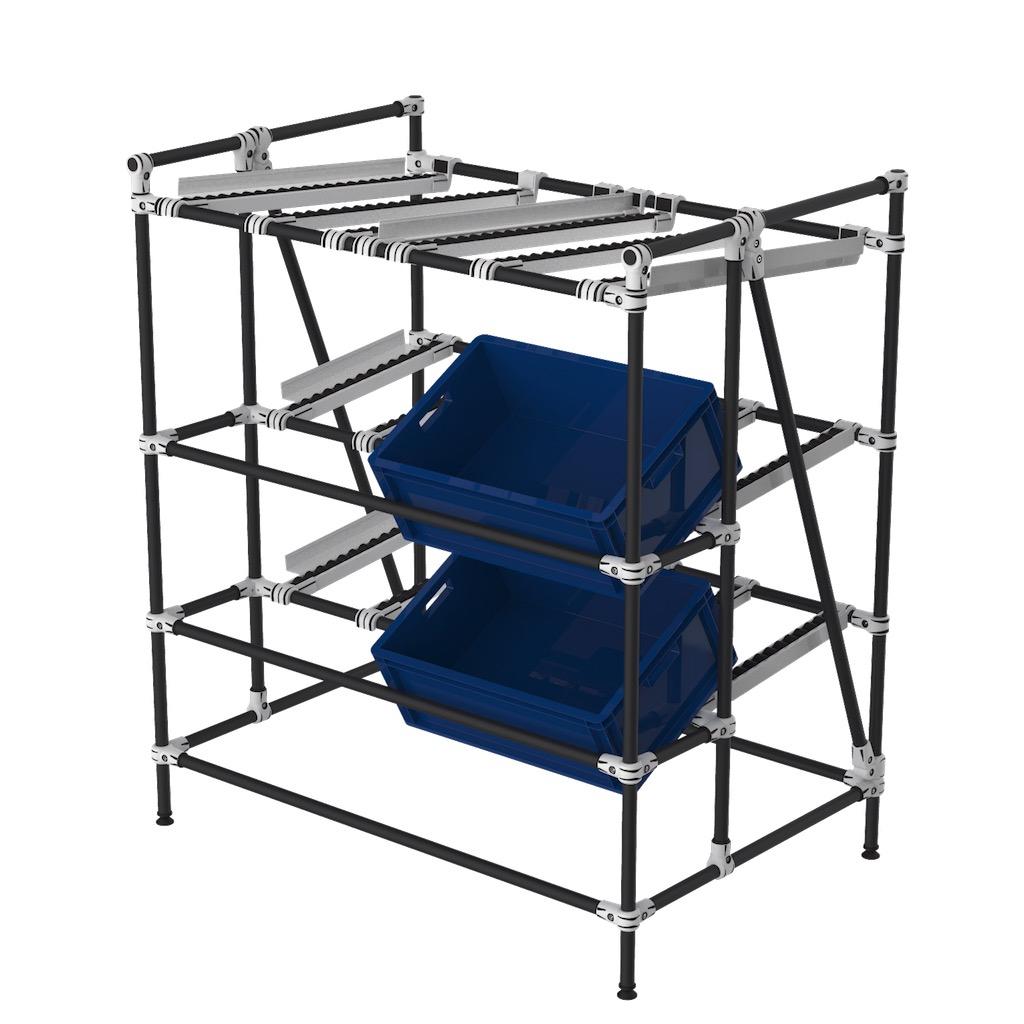 Live storage rack