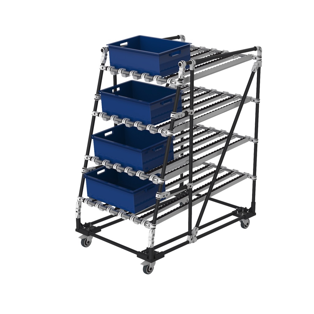 Ergonomic FIFO live storage