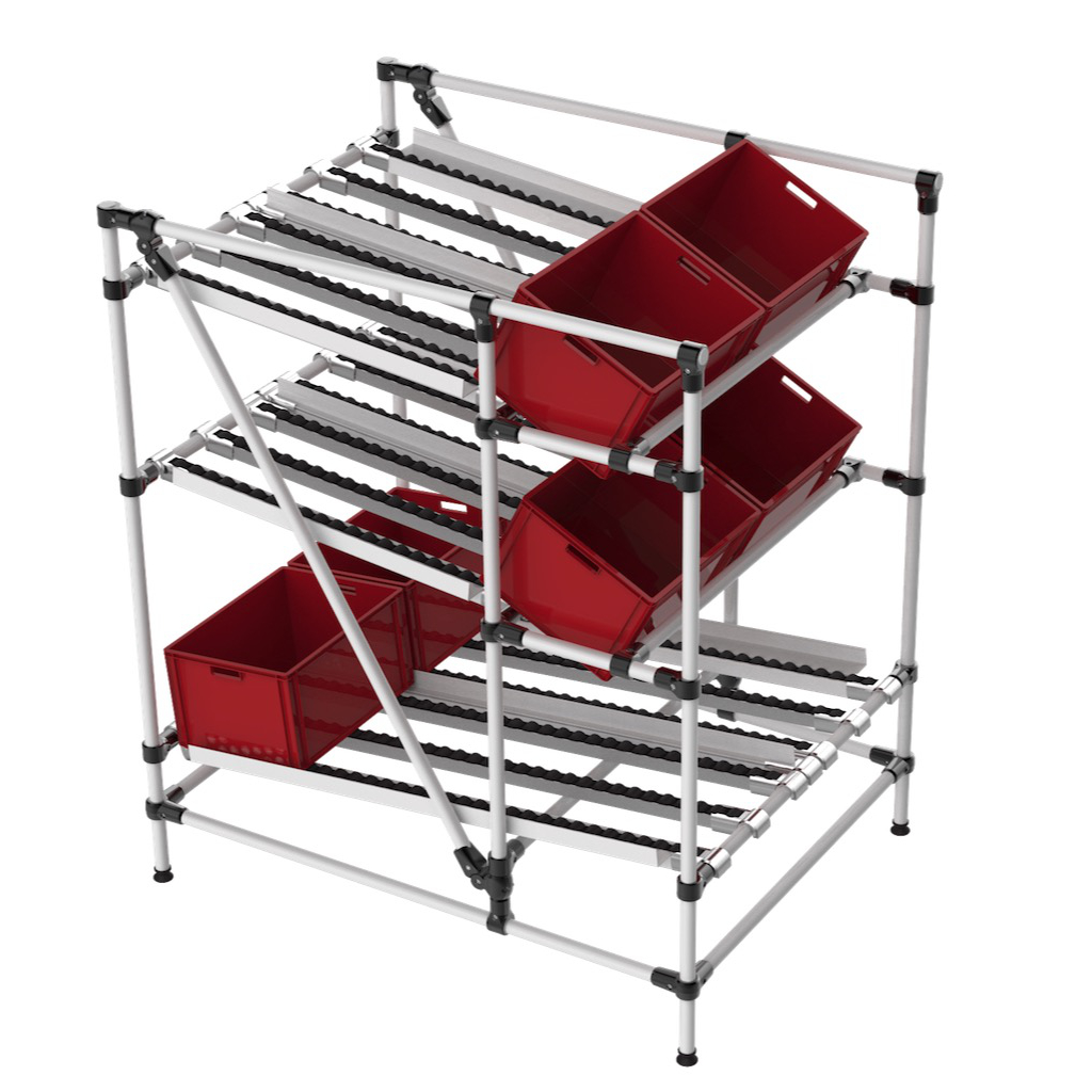 Rack stockage