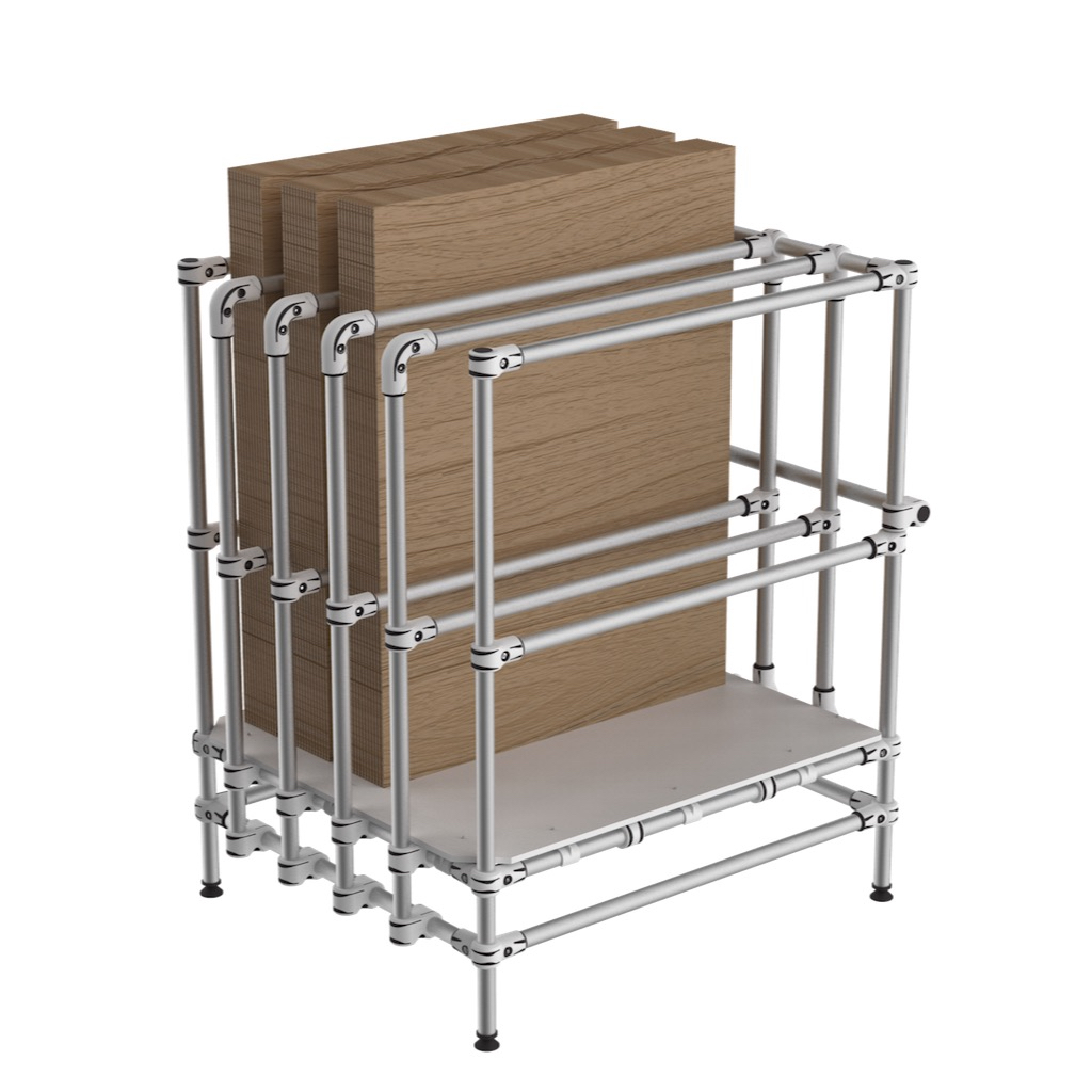 Vertical board storage