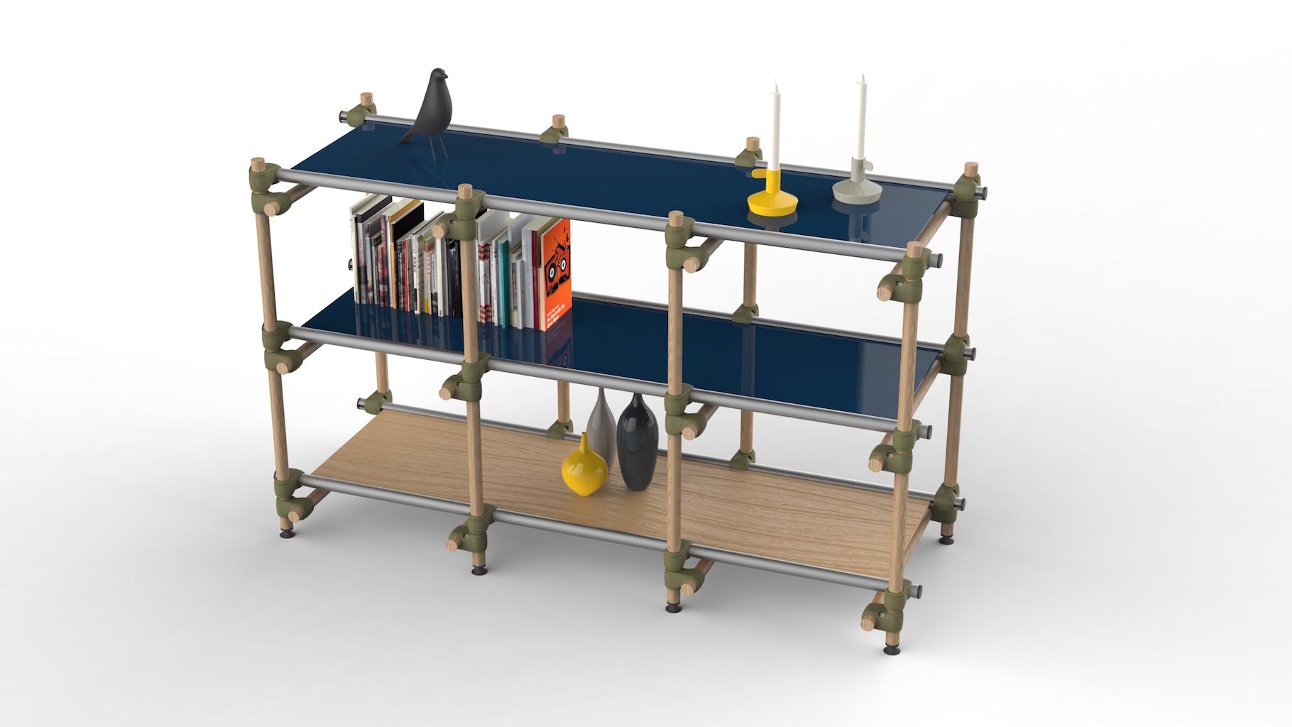 Designer shelving
