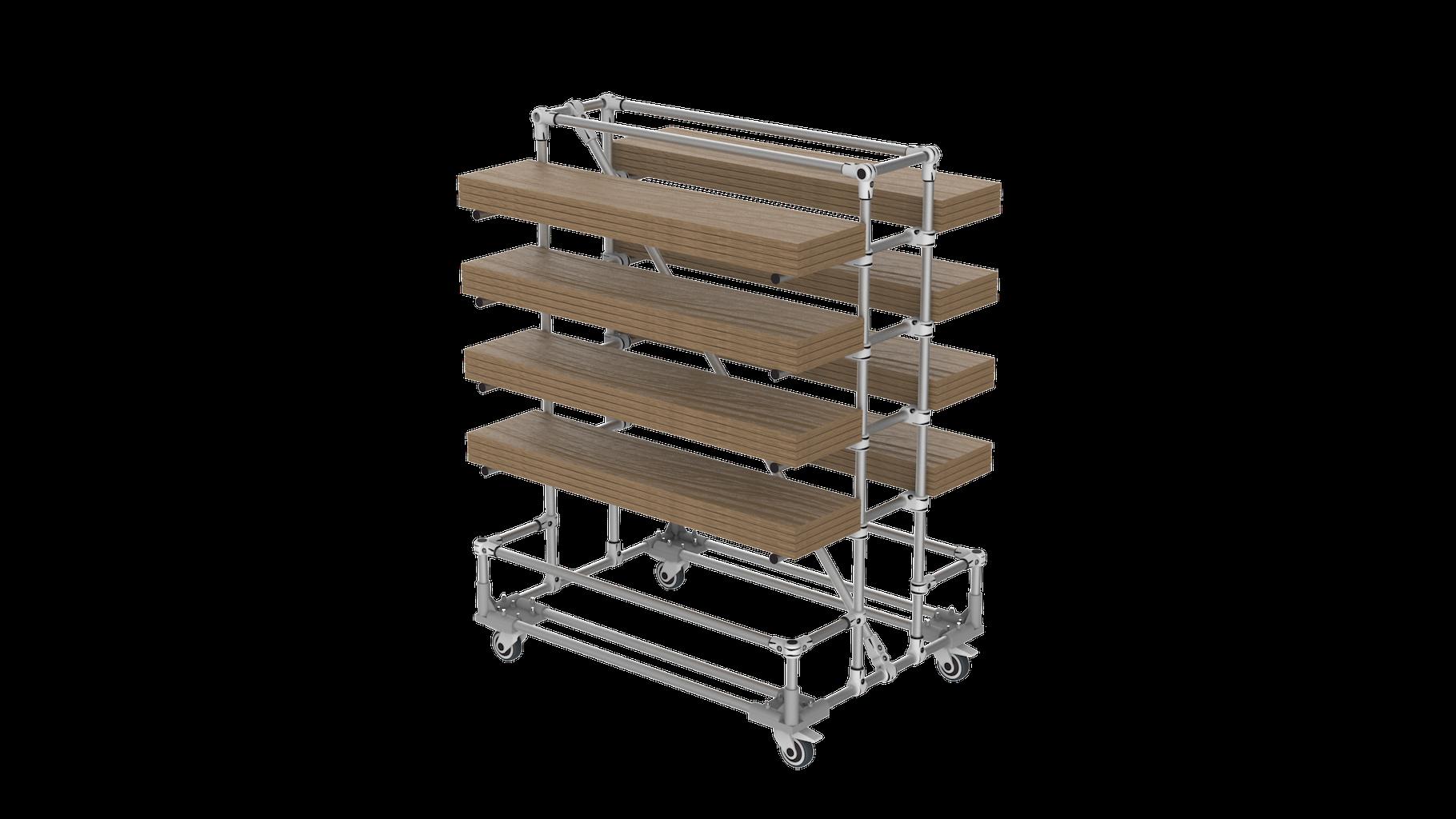 Board cantilever
