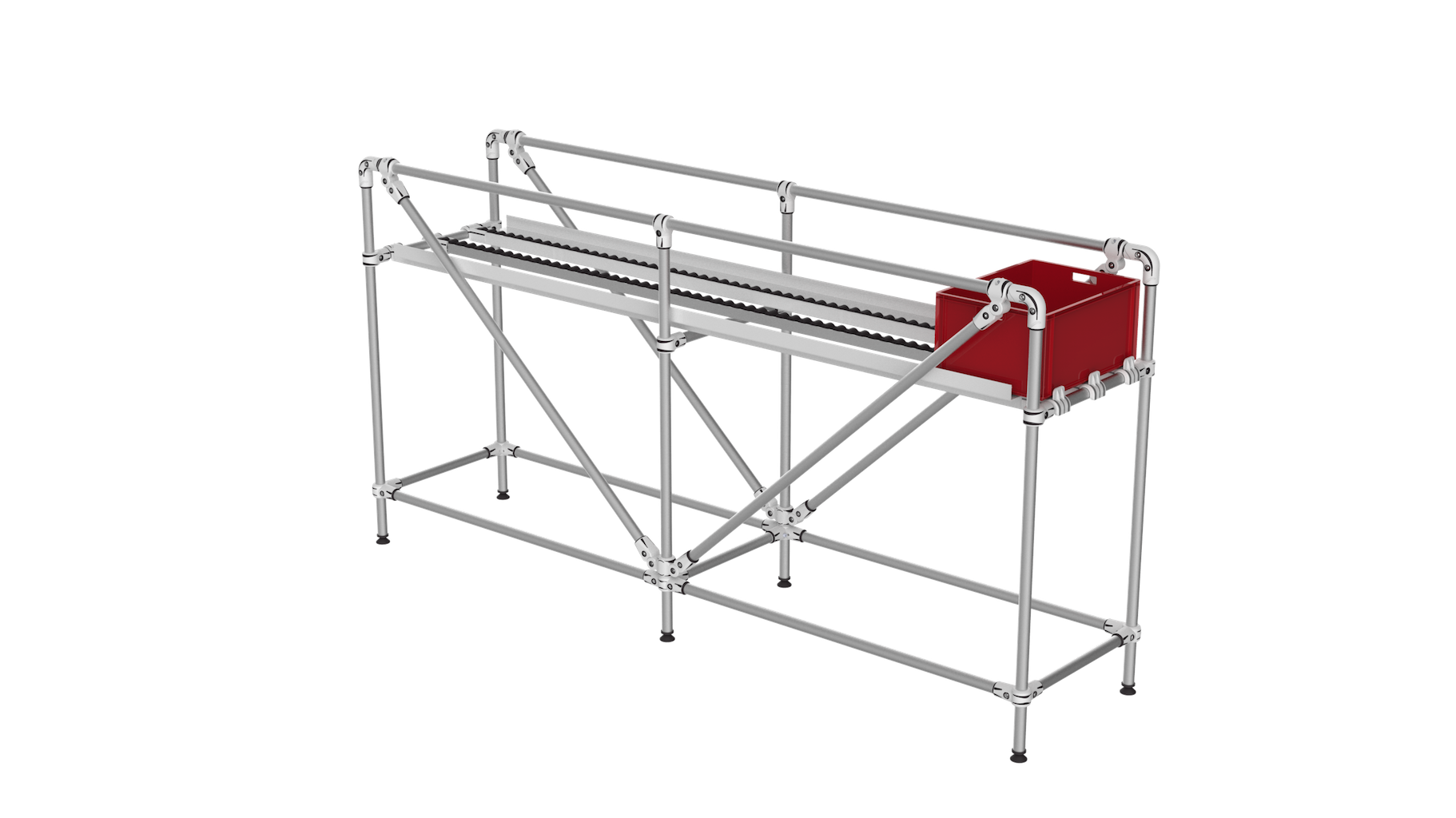 Box picking conveyor