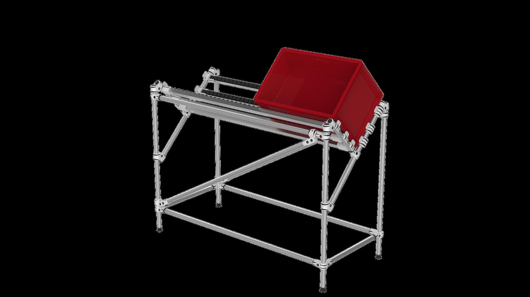 Box picking conveyor