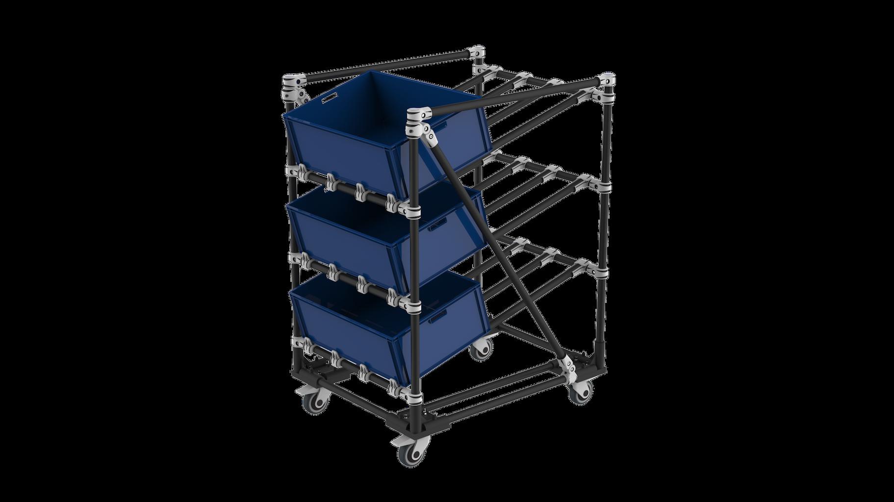 Kaizen factory rack