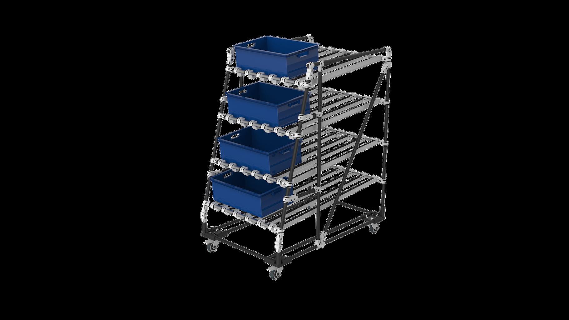Ergonomic FIFO live storage