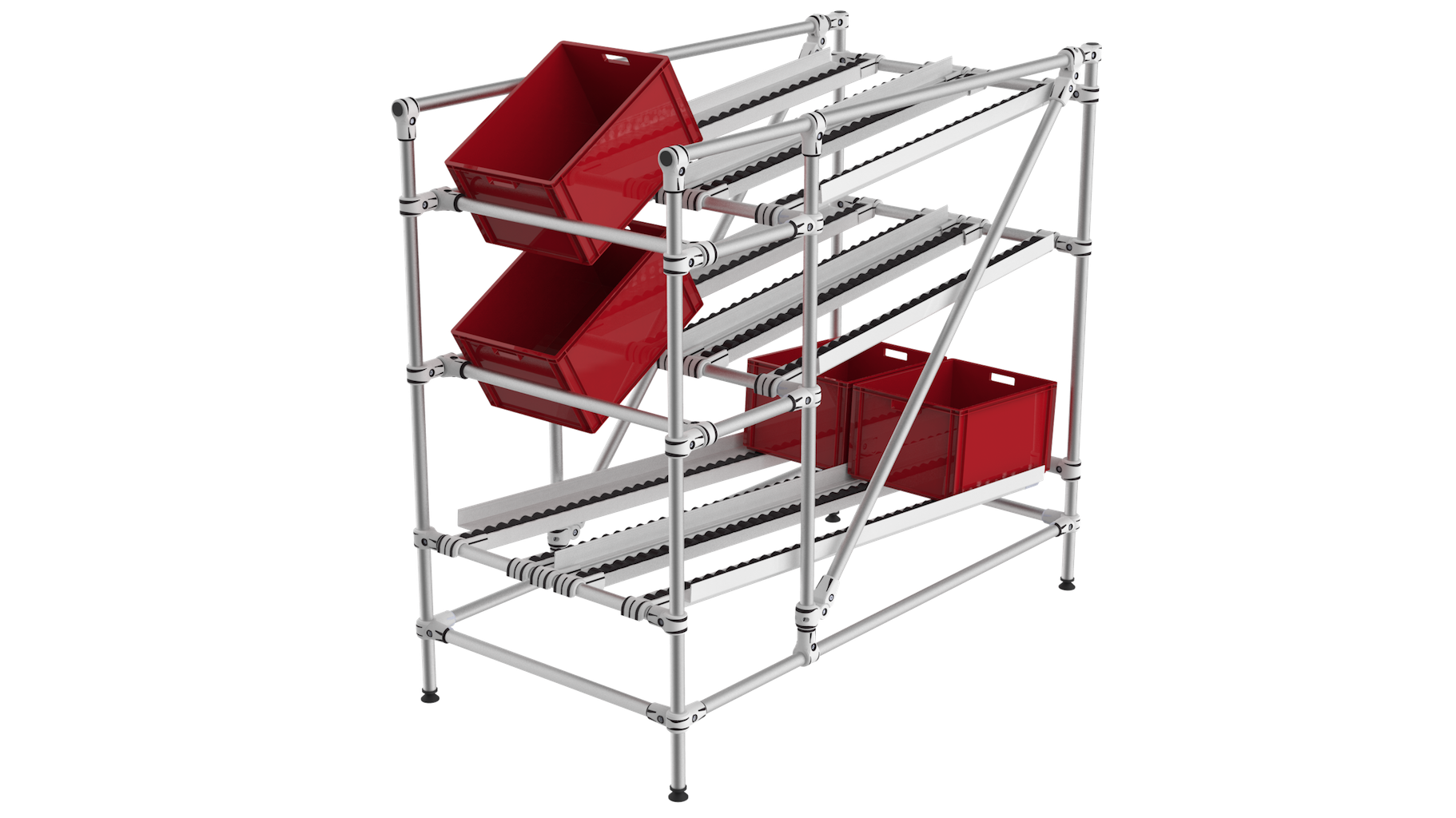 Flow rack FIFO