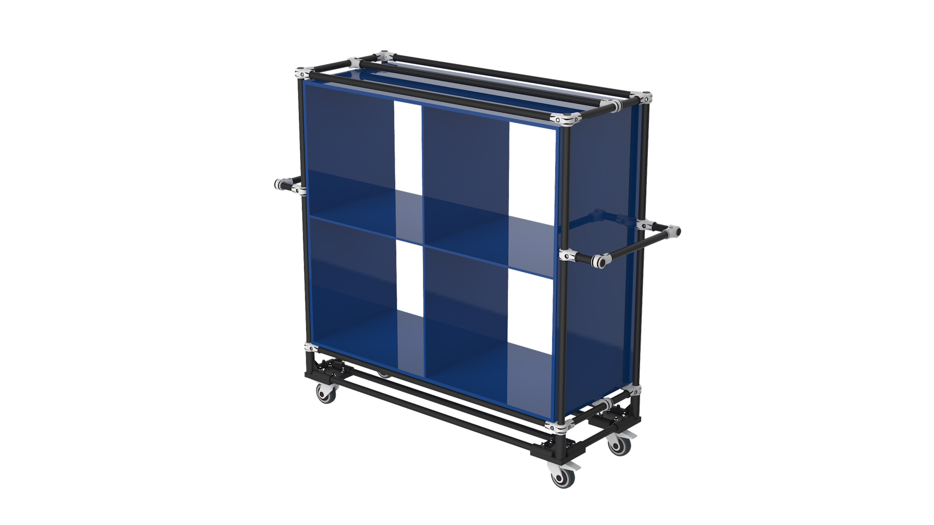 Compartment storage cart