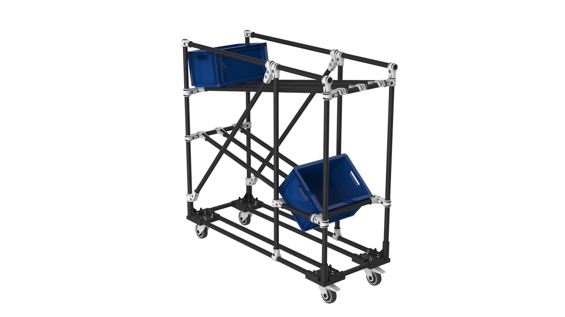 KLT picking trolley