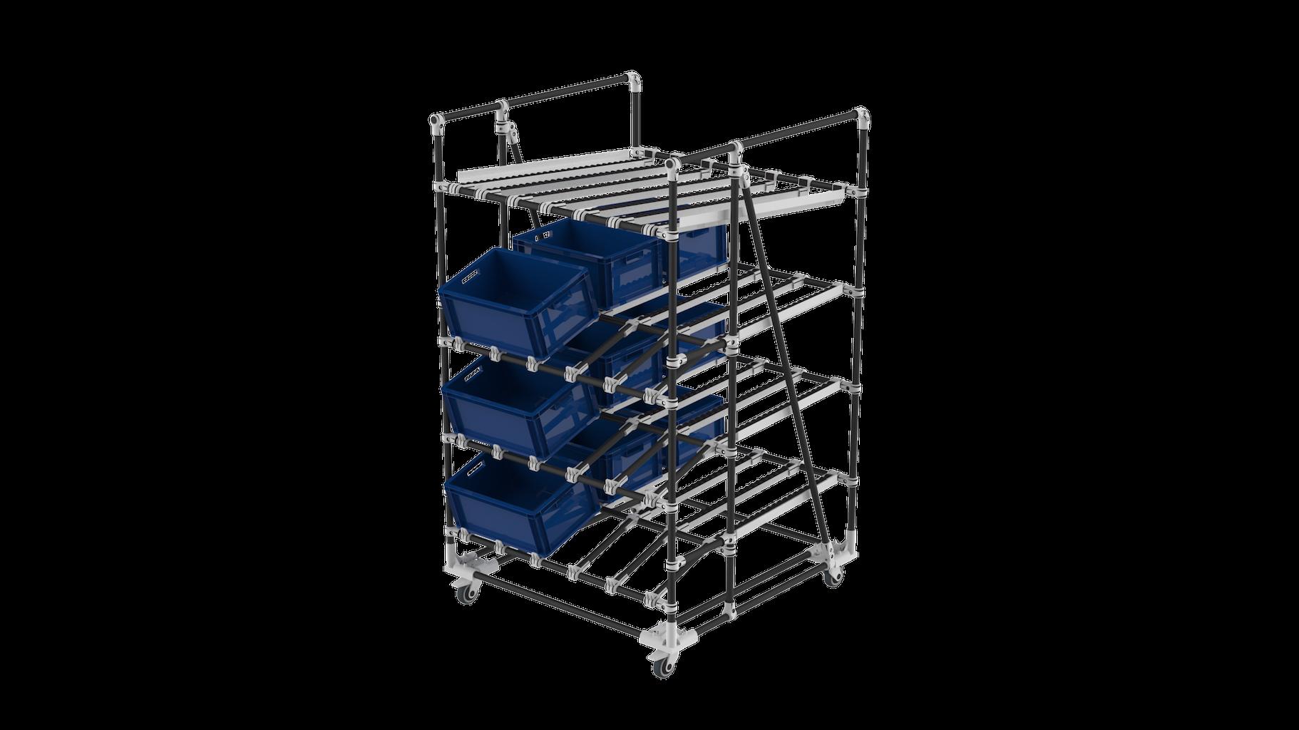 live storage picking racking