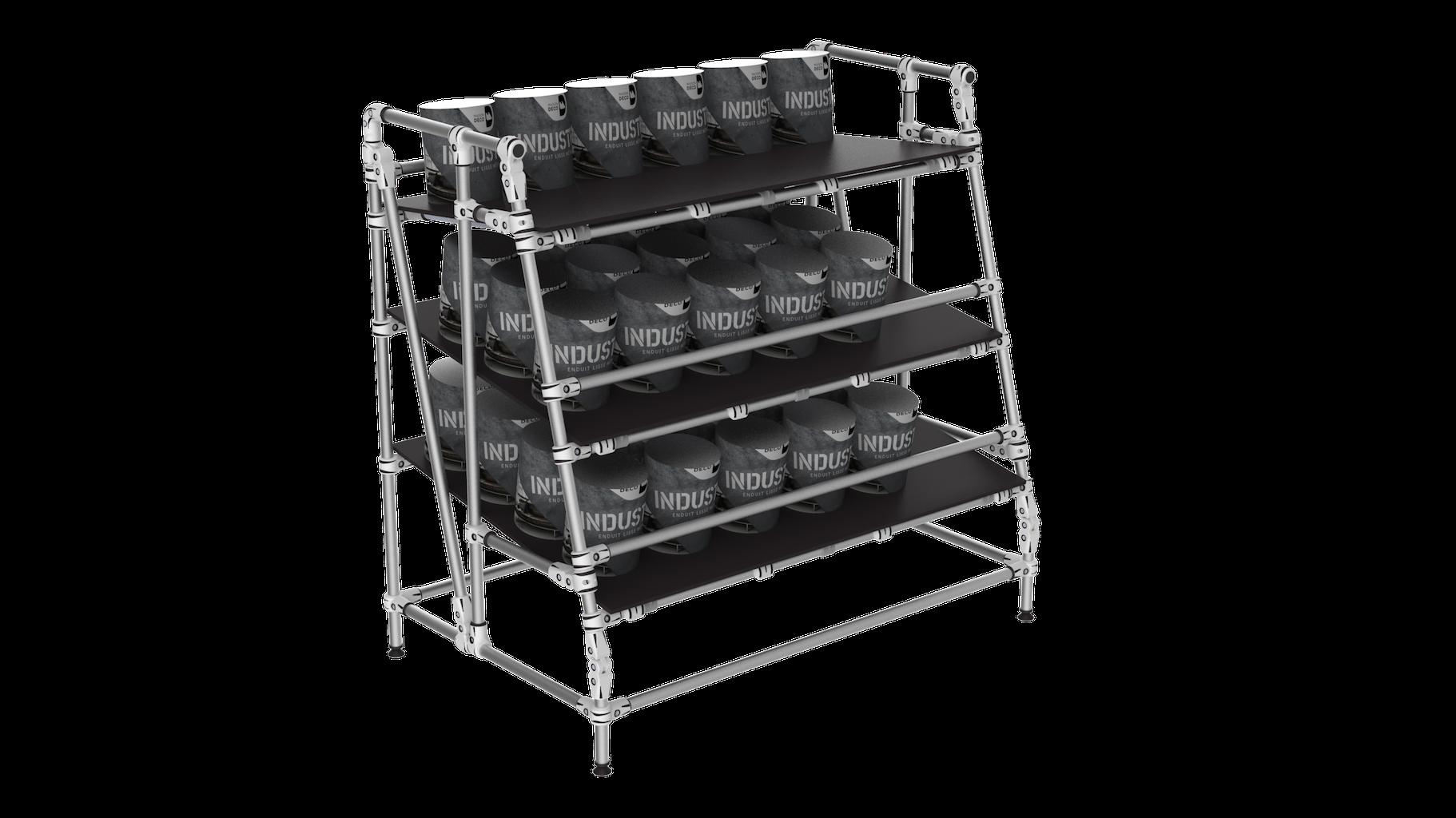 Order preparation picking shelf